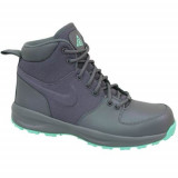 Ghete Copii Nike Manoa GS 859412001, 37.5, 38, 38.5, Gri