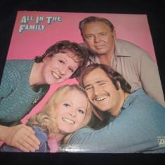 Cast - All In The Family _ vinyl,LP _ Atlantic (SUA,1971) _ comedie , non-music, VINIL