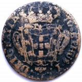 RAR ! PORTUGALIA , JOSEPHUS I , 10 REIS 1764 , URIASA 36mm. / 13g., Europa, Cupru (arama)