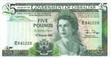 GIBRALTAR █ bancnota █ 5 Pounds █ 1988 █ P-21b █ UNC █ necirculata