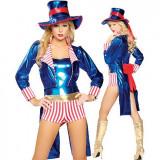 W210 Costum tematic Uncle Sam, S/M