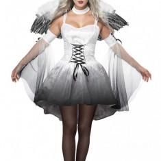 Z304 Costum Halloween inger negru