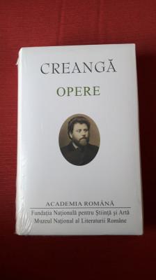 Ion Creanga  - Opere  - (Academia Romana) Editie de lux foto