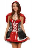 R540-3 Costum tematic adulti Scufita Rosie, L