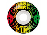 Roti skate Darkstar Shock Rasta 51mm