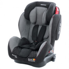 Scaun Auto Georgia cu Isofix Top Tether Gri 9-36 Kg, 1-2-3 (9-36 kg)