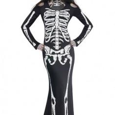 D393-1122 Costum tematic Halloween - model anatomic schelet