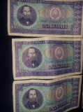 Bancnote una suta lei(100 lei)1966,seria D0099 de la 861701 la 861708 T GRATUIT
