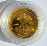 TRISTAN DA CUNHA 1 pound 2005 Amiralul Nelson proof 1,24 g AUR .999, Australia si Oceania