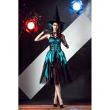 B509-1121 Costum vrajitoare sexy - Groovy Midnight Witch, S/M
