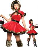 G41 Costum tematic Halloween Scufita Rosie, M