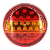 Lampa remorca rotunda cu LED-uri 14 X 34 12V