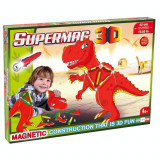 Jucarie T-Rex cu magnet Supermag 3D