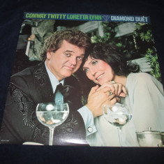Conway Twitty & Loretta Lynn- Diamond Duet _ vinyl,LP _MCA (SUA,1979), VINIL, MCA rec