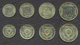 IUGOSLAVIA █ SET COMPLET DE MONEDE █ 10, 20, 50, 100 Dinara █ 1989 █ UNC