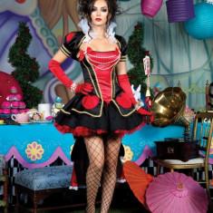 K165 Costum cu tematica Halloween - sexy queen