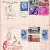 1950 FDC ROMANIA - Colectie an complet, toate emisiunile prima zi, Romania 1900 - 1950