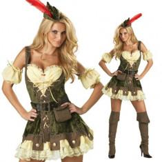 K130 Costum Halloween Robin Hood, S/M