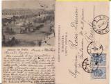 Braila-Piata Regala-edit. Leon Konig, Cernauti-clasica, perfin, Circulata, Printata