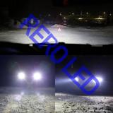 Bec LED H4 LED COB 8000lm 6500K Alb Xenon, Universal