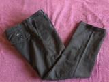 Pantaloni barbati HUGO BOSS, mas. 48 2+1 gratis, Negru, Lungi