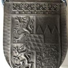Blazon vechi,metalic,,german,cu basorelief