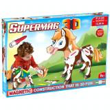 Jucarie ponei cu magnet Supermag 3D