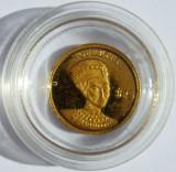 LIBERIA 25 dollars 2000  Nefertiti   0,5 g AUR .999, Australia si Oceania