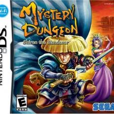 Mystery Dungeon Shiren The Wanderer Nintendo Ds, Sega