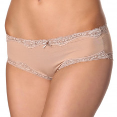TPH1371-155 Chilot hipster cu aplicatii din dantela Brief Micro and Lace Hipster