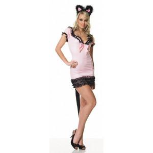 F326 Costum Halloween pisica sexy