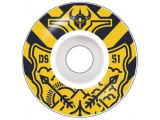 Roti skate Darkstar Lockup 51mm Yellow