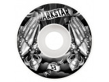 Roti skate Darkstar Salvation Black/White 53mm