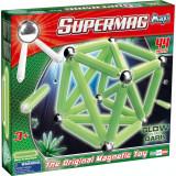 Set constructie luminos 44 piese Supermag Maxi Glow
