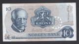A2479 Norway Norvegia 10 kroner 1982