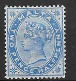 Malta 1885, Nestampilat