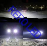 Bec LED H7 LED COB 8000lm 6500K Alb Xenon, Universal