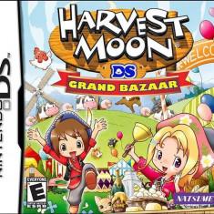 Harvest Moon Grand Bazaar Nintendo Ds