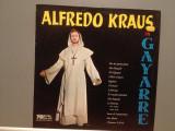 ALFREDO KRAUS in GAYARRE (Colona Sonora) – (1978/Carillon/Spain) , VINIL/Ca NOU, decca classics