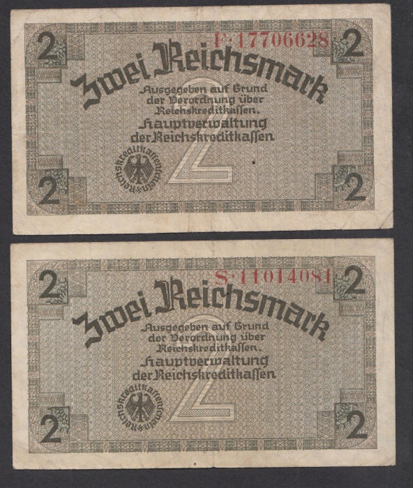 A2820 Germany Germania 2 mark 1940 1945