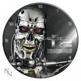 Ceas de perete din sticlă Terminator