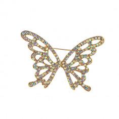 Brosa, fluture decorat