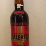 R 37-VIN liquoroso, RUFFINO, SALENTO CROCE D'ORO, CL 72 GR 16,5 RECOLTARE 1967, Sec, Rosu, Europa