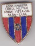 Insigna Asoc. Sportiva Liceul Militar Mihai Viteazul , Alba Iulia