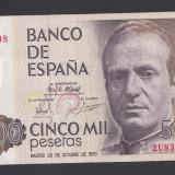 Spania 5000 pesetas 1979 1