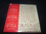 Schweizer  Romanos Chor-The Divine Liturgy Of St.Basil_dublu LP_Slava(Elvetia), VINIL