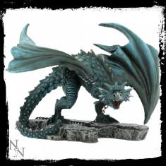 Statueta dragon inlantuit Nyx