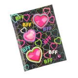 Agenda BFF, cu luminite multicolore