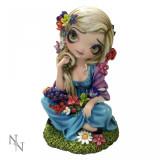 Statuetă zână gotică Flora