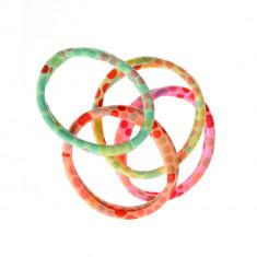 Set 4 elastice cu buline